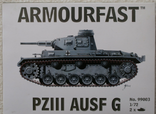 Armourfast 20mm 99003 Panzer III Ausf G